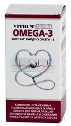 ВИТРУМ КАРДИО ОМЕГА-3 (Омега-3 триглицериды)