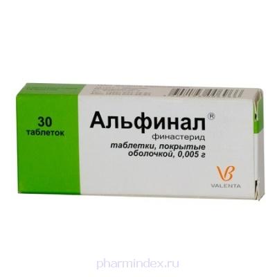 АЛЬФИНАЛ (Финастерид)