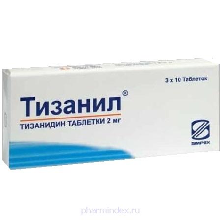 ТИЗАНИЛ (Тизанидин)