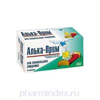 АЛЬКА-ПРИМ (Ацетилсалициловая кислота+Глицин)