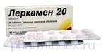ЛЕРКАМЕН 20 (Лерканидипин)