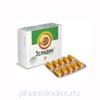 ЭСЛИДИН (Метионин+Фосфолипиды)