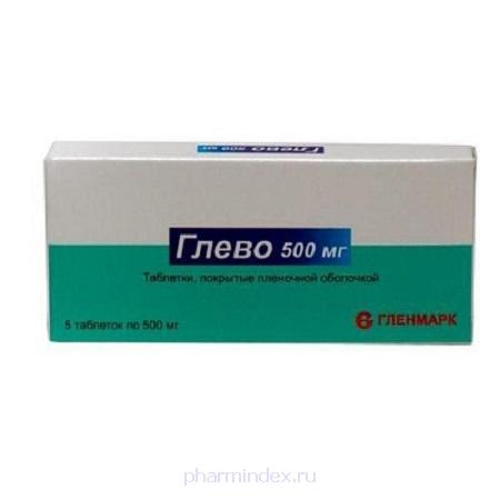 ГЛЕВО (Левофлоксацин)