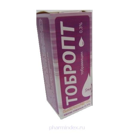 ТОБРОПТ (Тобрамицин)