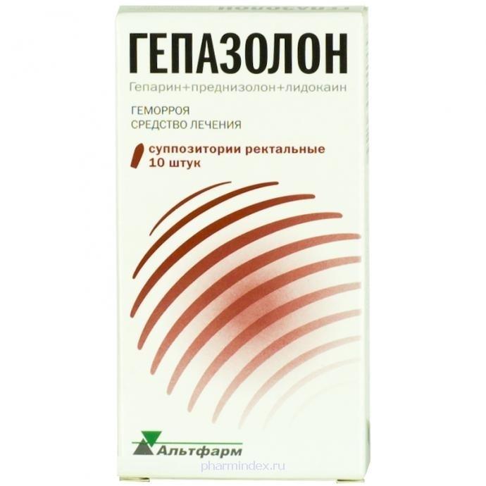 ГЕПАЗОЛОН (Гепарин натрия+Лидокаин+Преднизолон)