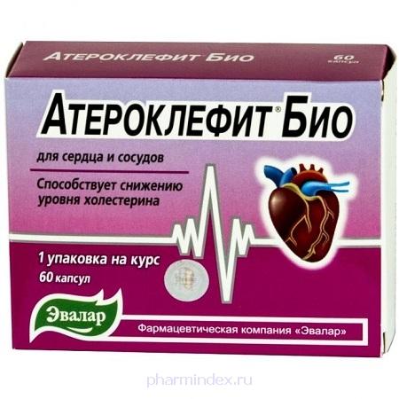 АТЕРОКЛЕФИТ БИО капс. 0.25г №60