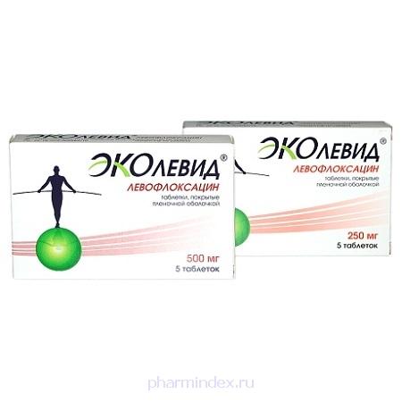 ЭКОЛЕВИД (Левофлоксацин)
