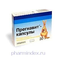 ПРЕГНАВИТ (Поливитамин+Мультиминерал)