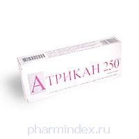 АТРИКАН 250 (Тенонитрозол)