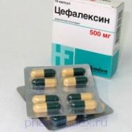 ЦЕФАЛЕКСИН (Цефалексин)