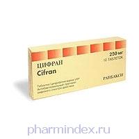 ЦИФРАН (Ципрофлоксацин)