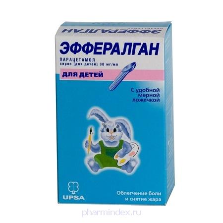 ЭФФЕРАЛГАН сироп 30мг/мл 90мл