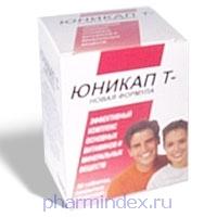 ЮНИКАП Т - НОВАЯ ФОРМУЛА (Поливитамин+Мультиминерал)