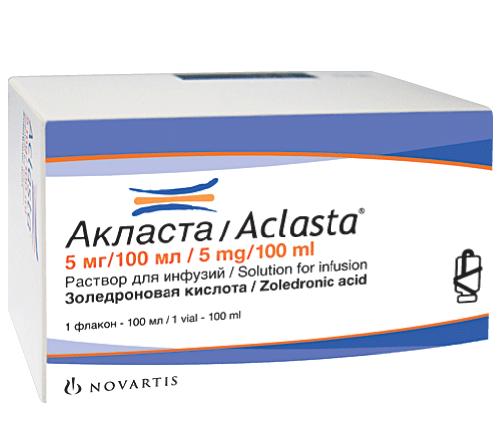 АКЛАСТА (Золедроновая кислота)