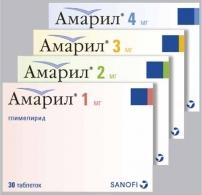 АМАРИЛ (Глимепирид)