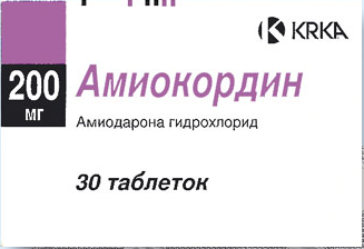 АМИОКОРДИН (Амиодарон)
