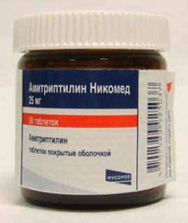 АМИТРИПТИЛИН НИКОМЕД (Амитриптилин)