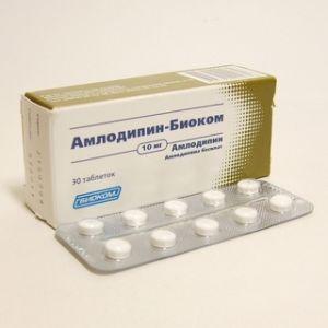 АМЛОДИПИН-БИОКОМ (Амлодипин)