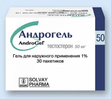 АНДРОГЕЛЬ (Тестостерон)