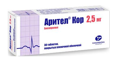 АРИТЕЛ КОР (Бисопролол)
