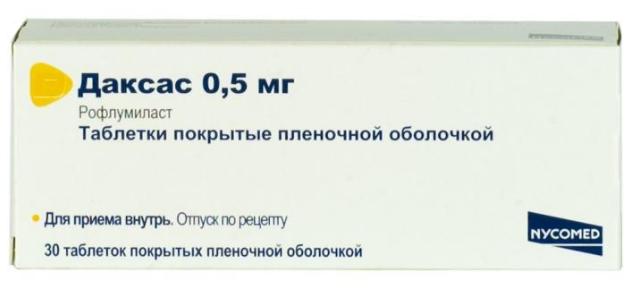 ДАКСАС (Рофлумиласт)