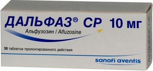 ДАЛЬФАЗ СР (Алфузозин)