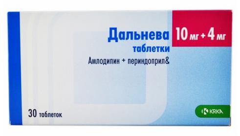 ДАЛЬНЕВА (Амлодипин+Периндоприл)