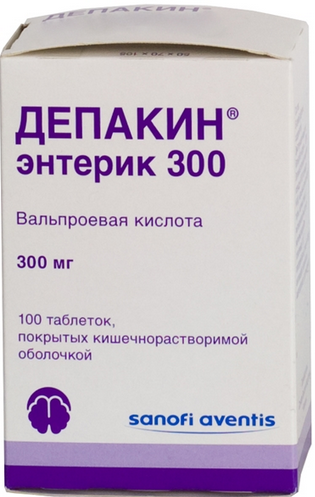 ДЕПАКИН ЭНТЕРИК 300 (Вальпроевая кислота)