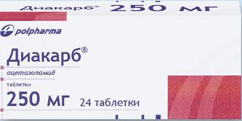 ДИАКАРБ (Ацетазоламид)