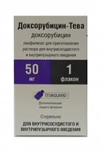 ДОКСОРУБИЦИН-ТЕВА (Доксорубицин)