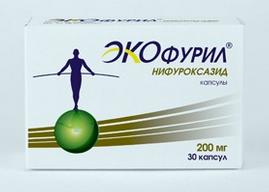 ЭКОФУРИЛ (Нифуроксазид)