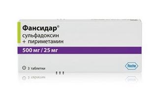 ФАНСИДАР (Сульфадоксин+Пириметамин)