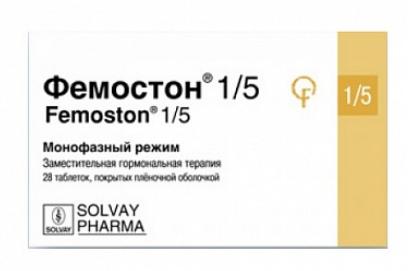 ФЕМОСТОН 1/5 КОНТИ (Эстрадиол+Дидрогестерон)