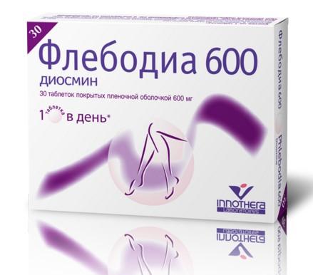 ФЛЕБОДИА 600 (Диосмин)