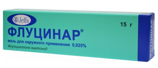 ФЛУЦИНАР (Флуоцинолона ацетонид)