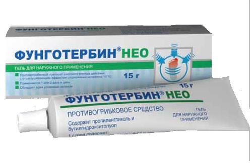 ФУНГОТЕРБИН НЕО (Тербинафин+Мочевина)
