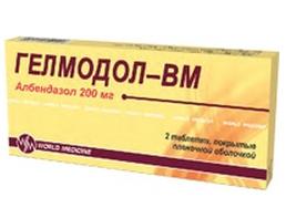 ГЕЛМОДОЛ-ВМ (Албендазол)