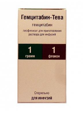 ГЕМЦИТАБИН-ТЕВА (Гемцитабин)