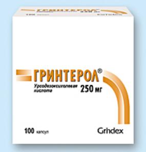 ГРИНТЕРОЛ (Урсодезоксихолевая кислота)