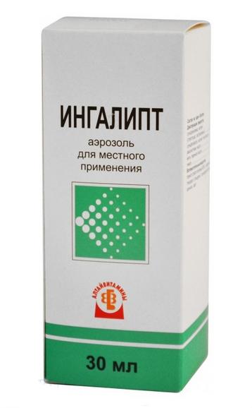 ИНГАЛИПТ (Мяты перечной листьев масло+Сульфаниламид+Сульфатиазол+Тимол+Эвкалиптовое масло)
