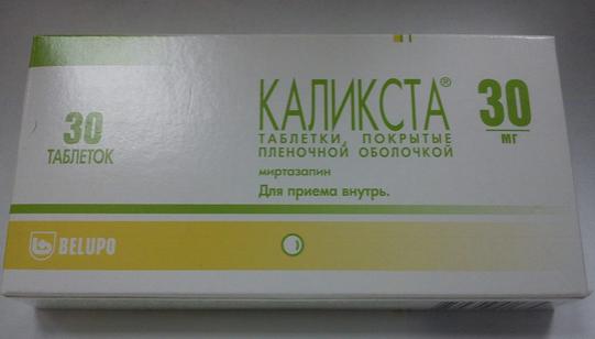 КАЛИКСТА (Миртазапин)