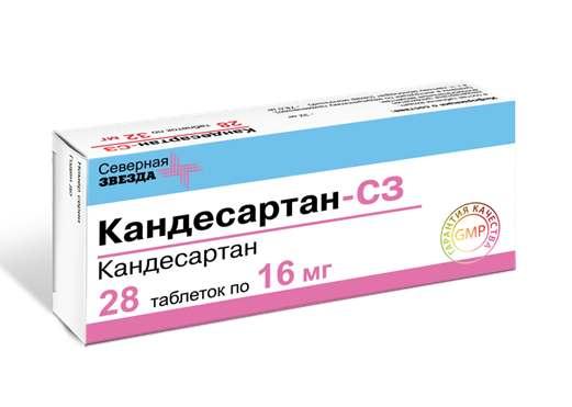 КАНДЕСАРТАН-СЗ (Кандесартан)