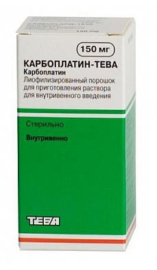 КАРБОПЛАТИН-ТЕВА (Карбоплатин)