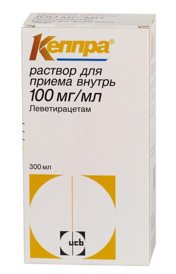 КЕППРА (Леветирацетам)