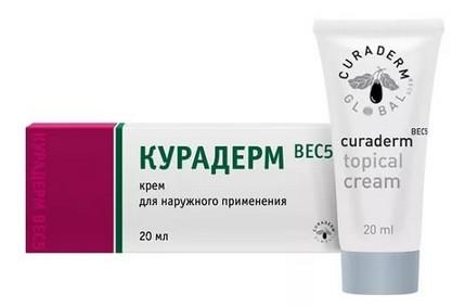 КУРАДЕРМ BEC5 крем для наружного применения туба 20мл