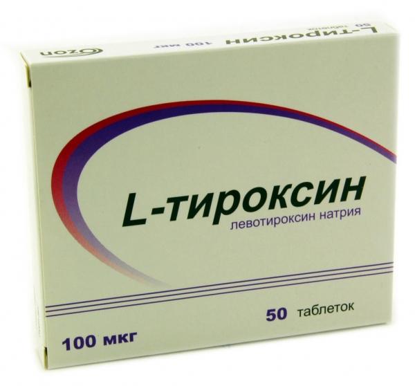 L-ТИРОКСИН (Левотироксин натрия)