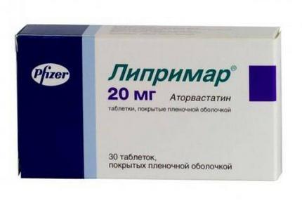 ЛИПРИМАР (Аторвастатин)