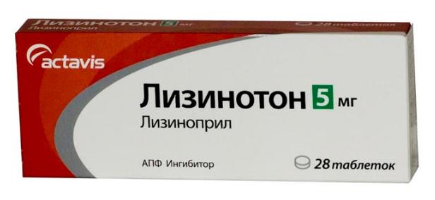 ЛИЗИНОТОН (Лизиноприл)