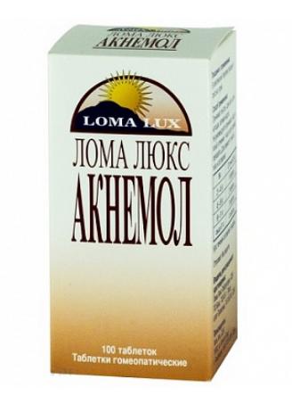 ЛОМА ЛЮКС АКНЕМОЛ таб. №100