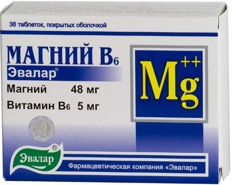 МАГНИЙ В6 ЭВАЛАР